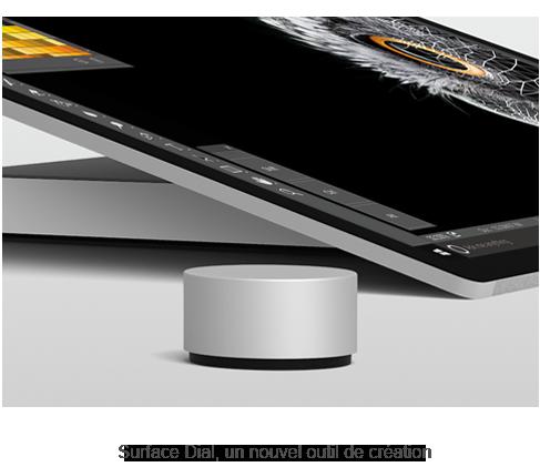Surface Dial, un nouvel outil de création