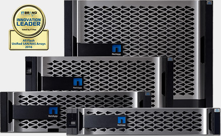Stockage 100% Flash - NETAPP