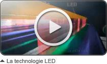 Voir la vidéo de présentation de la technologie LED OKI